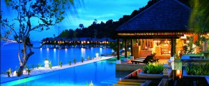 pangkor laut spa village - night view