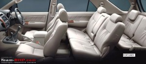 Fortuner Seats